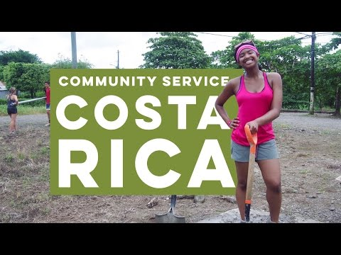 Join us on a high school summer community service program in Costa Rica