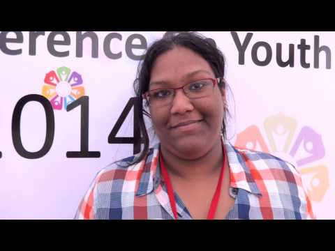 World Conference on Youth:Interview with Nirvana Saleh
