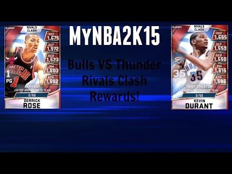 MyNBA2K15 - Bulls VS Thunder Rivals Clash Rewards