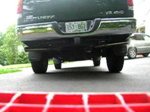 Toyota Tundra Flowmaster Exhaust - YouTube