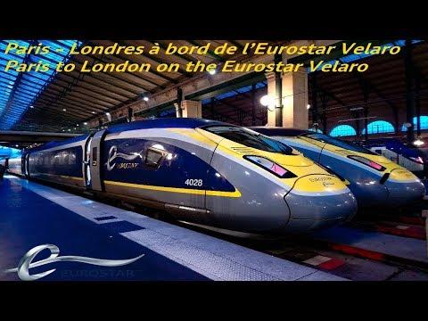 VT#48 - [FR] [EN] Paris - Londres sur l'Eurostar Velaro - Paris to London on the Eurostar Velaro