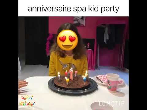 Anniversaire Spa Kid Party Montauban Youtube
