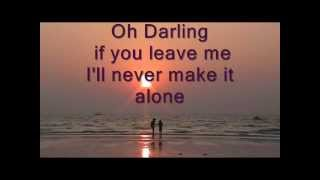 The Beatles Oh Darling (karaoke)