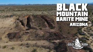 Black Mountain Barite Mine - Arizona - 2017