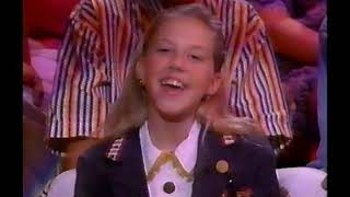 Jodie Sweetin from Full House on America's Funniest People - 1993