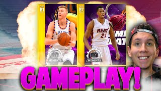 NBA 2K16 MyTeam Moments Kristaps Porzingis & Hassan Whiteside Gameplay!