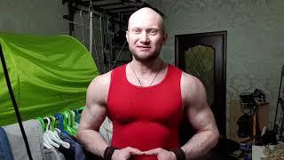 постер к видео Подтягивания с гирей 24 кг на максимум. Новый рекорд Юрия Спасокукоцкого