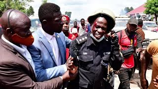 Uganda's Bobi Wine suspends election campaign over violence