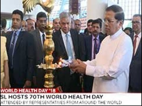 70th World Health Day of WHO celebrated in Sri Lanka (English)