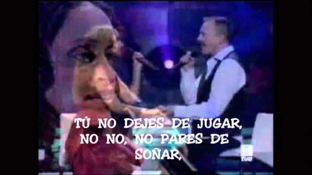 La Vida Es Bella Noa Y Miguel Bose Con Letra Youtube