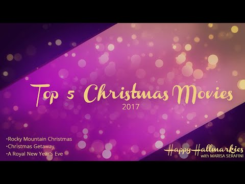 Top 5 Countdown to Christmas for 2017 - Happy Hallmarkies