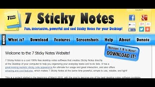 7 sticky notes review