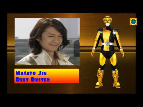 All Gold Ranger Power Rangers Of Super Sentai