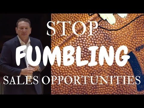 Saulle's Sales Tips: STOP Fumbling 🏈 Selling Opportunities!!! #saullesays