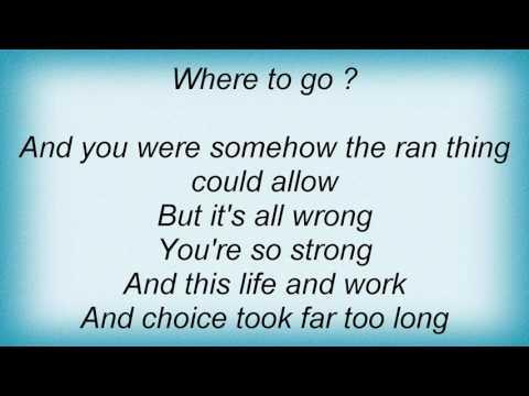 Remy Zero - Fair Lyrics