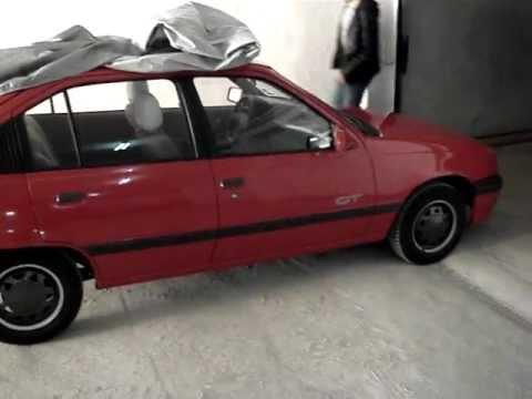 Opel kadett e gt 1989 sound youtube for Opel kadett e interieur