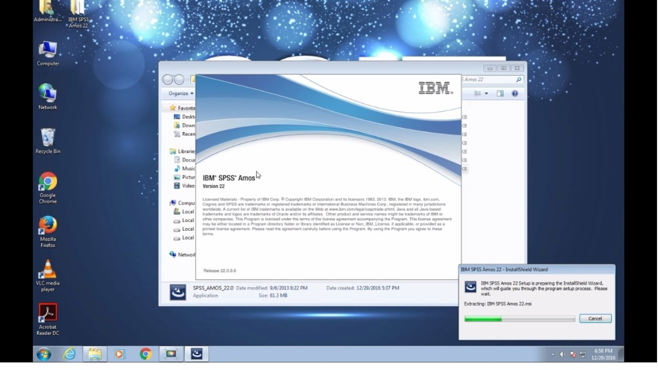 how to install ibm spss amos 22 full installation guide with serial