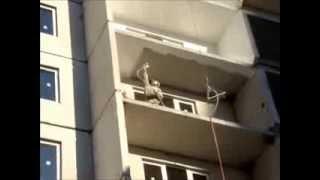 Покраска фасада зимней краской от ООО ПП