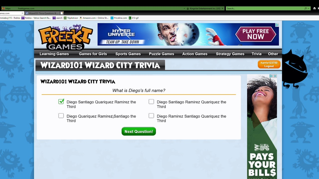 🤑 Wizard101 Trivia Questions & Answers | Facebook