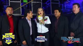 BRYNDIS en entrevista  con Lucia Valenzuela desde el macro de la mejor fm en veracruz