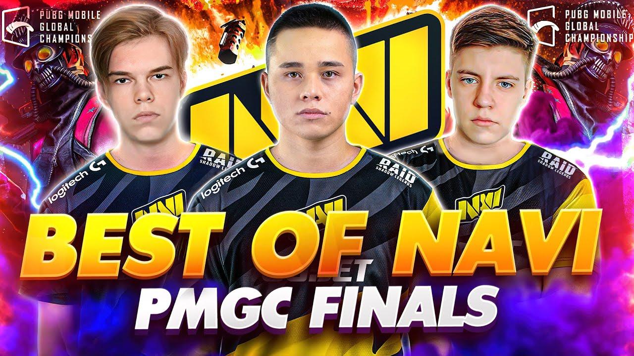 Лучшие моменты NAVI PUBG Mobile на PMGC 2020 FINALS