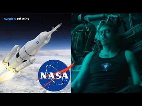 LA NASA ENSEÑA a MARVEL como RESCATAR a TONY STARK IRON MAN