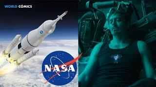 LA NASA ENSEÑA a MARVEL como RESCATAR a TONY STARK