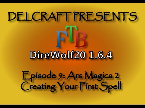 Ars Magica 2 - Creating Your First Spell