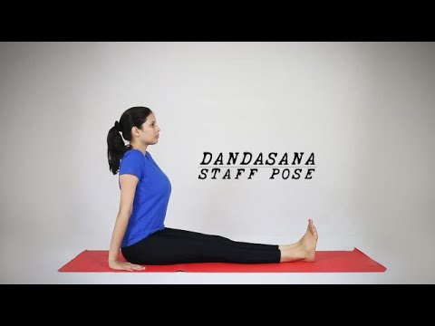 How to do Dandasana - Staff Pose