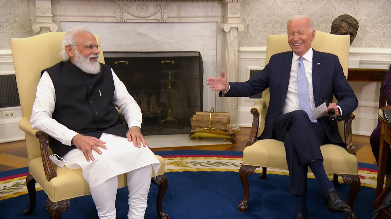 President Biden Participates in a Bilateral Meeting with the Prime Minister of the Republic of India
