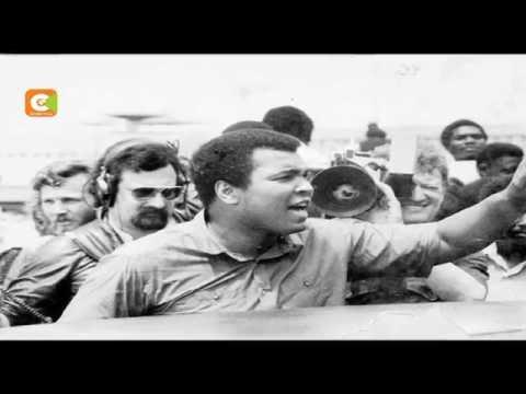 Kenyan man who fought  Muhammed Ali
