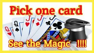 MAGIC WITH CARDS | MAGIC TRICKS | MAGIC WITH LOGIC