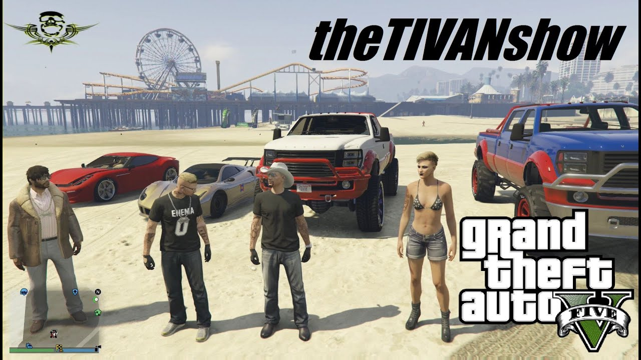 GTA5  - HOST CCC_010  - WIN A GAMERS BOX - PS4 - LIVE ON YOUTUBE