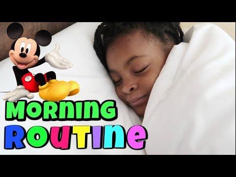 MORNING ROUTINE ET UNE JOURNEE AVEC NOUS À DISNEYLAND
