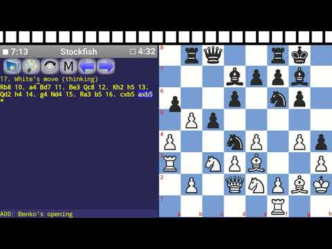 [RoCO#2] A00: Benko's opening - Research of Chess Opening