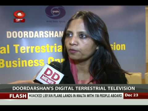 Digital Terrestrial television services providing Mobile TV