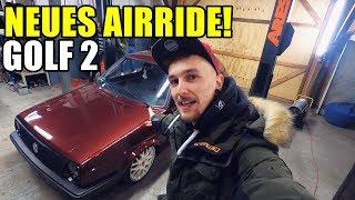 LB GARAGE   NEUES AIRRIDE FÜR DEN GOLF 2!