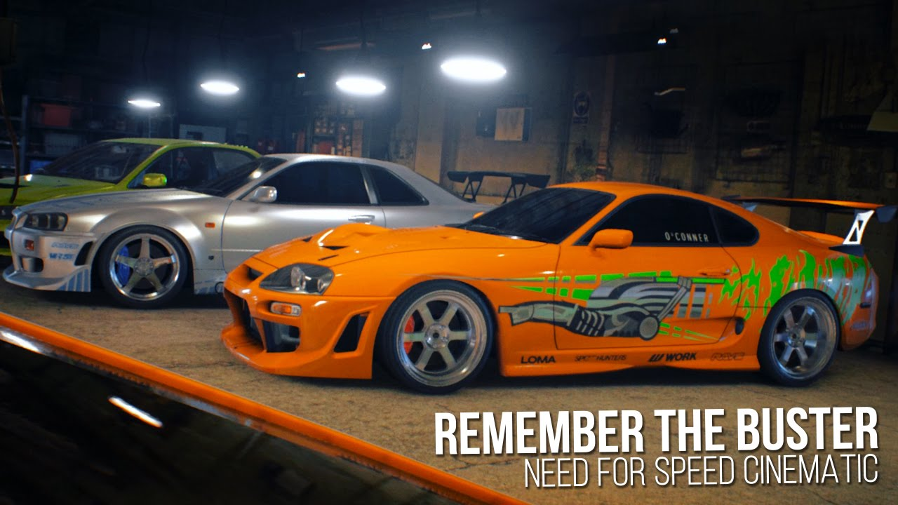 Remember The Buster | Need for Speed Cinematic - Paul ...