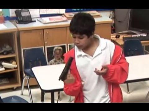 hidden camera - kids find a gun - Young Guns 3
