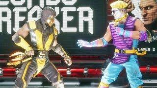 Brutality Crocante do Scorpion no Mortal Kombat 11