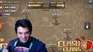 Win de clan oorlog in 12 minuten Clash of Clans