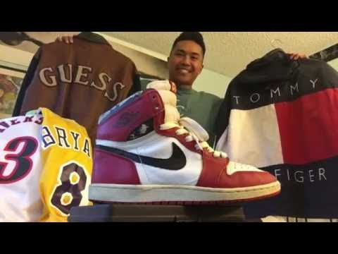 Trip to the Thrift! Ep. 4 (1985 OG 1's?!, Guess, Tommy Hilfiger, Burberry, etc.)