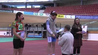 Минск - соревнования по велоспорту на треке среди ветеранов СНГ