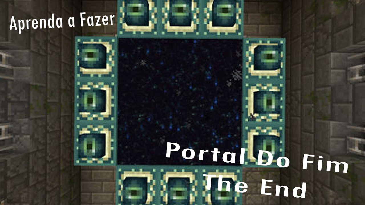 how to create an end portal in minecraft pc