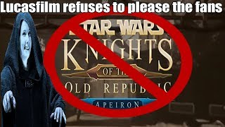 Kotor Remaster Killed by Lucasfilm
