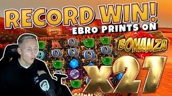 RECORD WIN!!! Bonanza BIG WIN - Casinodaddy HUGE WIN on Casino Game