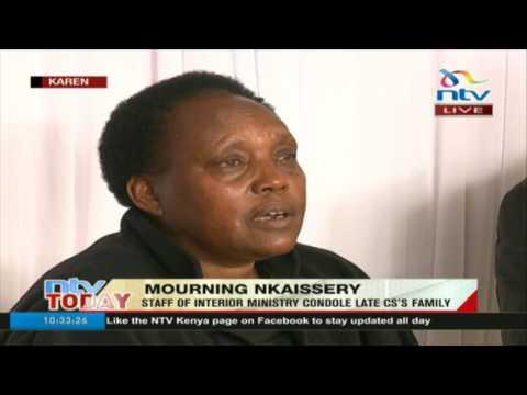 Hellen Nkaisserry recalls her last moments with husband