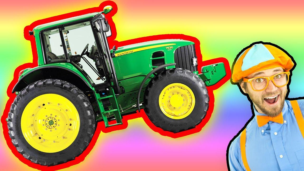 Tractors For Children Youtube