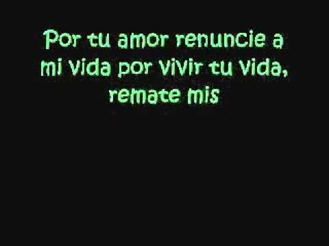 letra de si tu amor no vuelve [la...