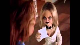 [Chucky&Tiffany]Не перебивай меня/ Music clip